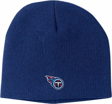 Tennessee Titans Basic Logo Uncuffed Knit Cap