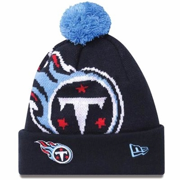 Tennessee Titans Biggie Cuffed Knit Hat