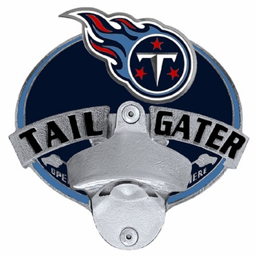 Tennessee Titans Bottle Opener Hitch Cover