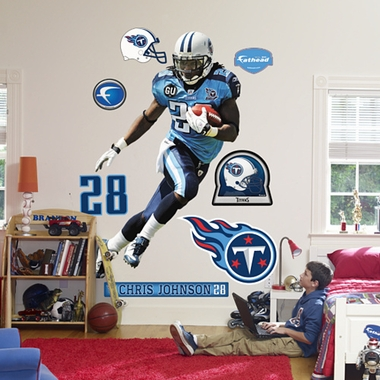 Tennessee Titans Chris Johnson Fathead Wall Graphic