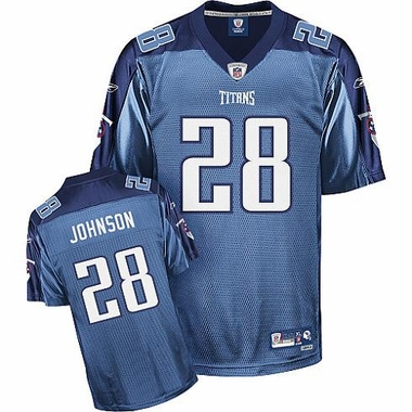 Tennessee Titans Chris Johnson YOUTH Reebok Premium Team Color Jersey