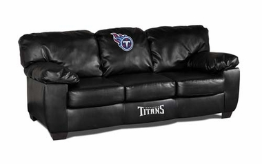 Tennessee Titans Leather Classic Sofa