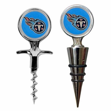 Tennessee Titans Corkscrew and Stopper Gift Set