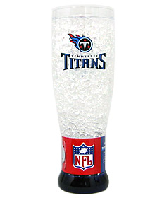 Tennessee Titans Crystal Pilsner Glass