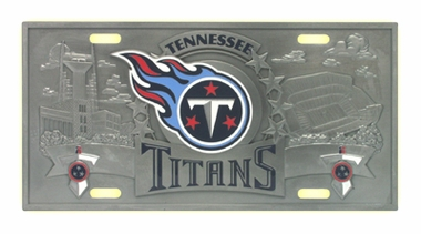 Tennessee Titans Deluxe Collector's License Plate