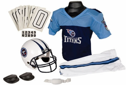 Tennessee Titans Deluxe Youth Uniform Set