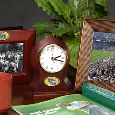 Tennessee Titans Desk Clock