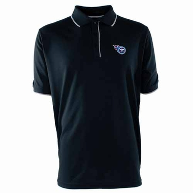 Tennessee Titans Mens Elite Polo Shirt (Color: Navy)