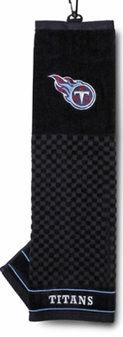 Tennessee Titans Embroidered Golf Towel