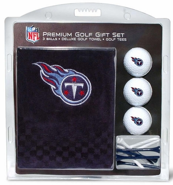 Tennessee Titans Embroidered Towel Golf Gift Set