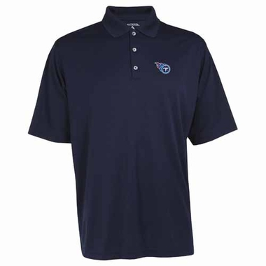 Tennessee Titans Mens Exceed Polo (Team Color: Navy)