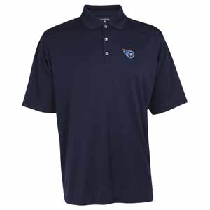 Tennessee Titans Mens Exceed Polo (Team Color: Navy) - X-Large