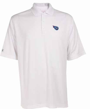 Tennessee Titans Mens Exceed Polo (Color: White)
