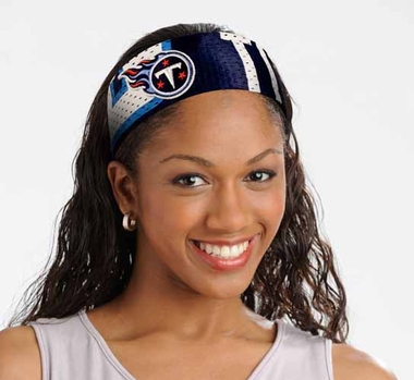 Tennessee Titans FanBand Hair Band