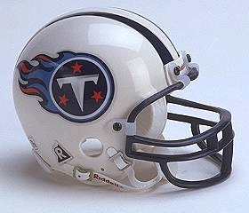 Tennessee Titans Football Helmet - Mini Replica