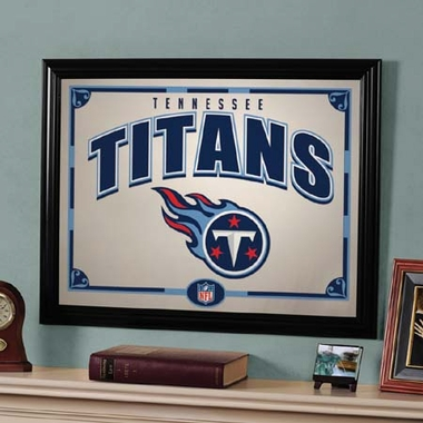 Tennessee Titans Framed Mirror