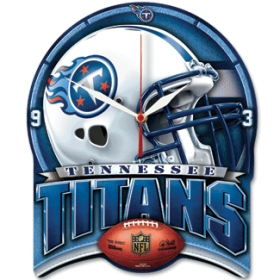 Tennessee Titans High Definition Wall Clock