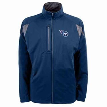 Tennessee Titans Mens Highland Water Resistant Jacket (Team Color: Navy)
