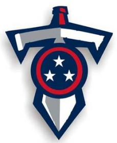 Tennessee Titans Individual Car Magnet