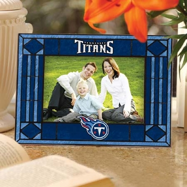 Tennessee Titans Landscape Art Glass Picture Frame