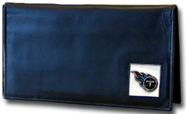 Tennessee Titans Leather Checkbook Cover (F)