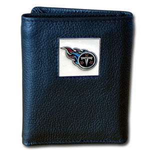 Tennessee Titans Leather Trifold Wallet (F)