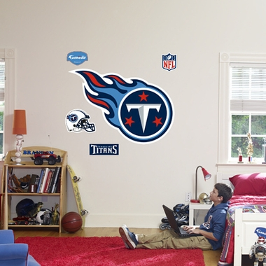 Tennessee Titans Logo Fathead Wall Graphic