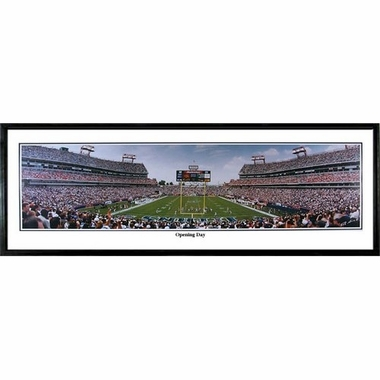 Tennessee Titans Opening Day Framed Panoramic Print