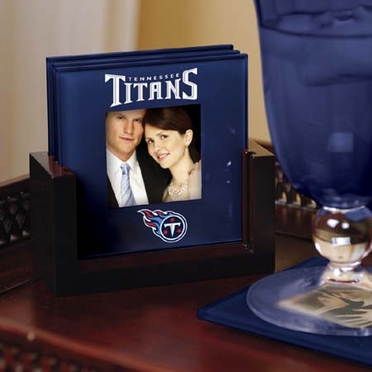 Tennessee Titans Photo Coaster Set