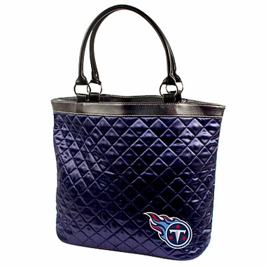 Tennessee Titans Quilted Tote