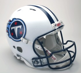 Tennessee Titans Riddell Full Size Authentic Revolution Helmet