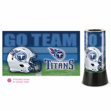 Tennessee Titans Rotating Lamp