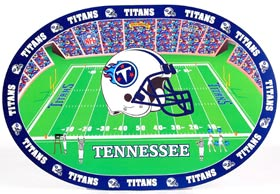 Tennessee Titans Set of 4 Placemats