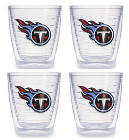 Tennessee Titans Set of FOUR 12 oz. Tervis Tumblers