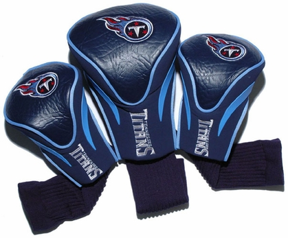 Tennessee Titans Set of Three Contour Headcovers