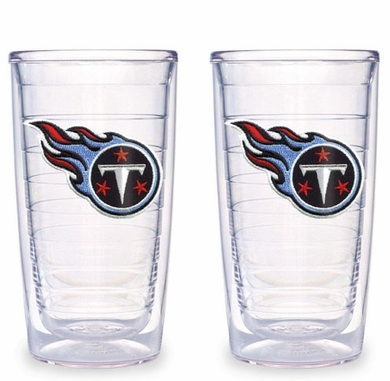 Tennessee Titans Set of TWO 16 oz. Tervis Tumblers