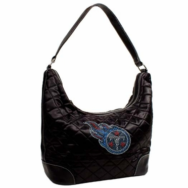 Tennessee Titans Sport Noir Quilted Hobo