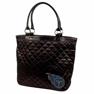 Tennessee Titans Sport Noir Quilted Tote