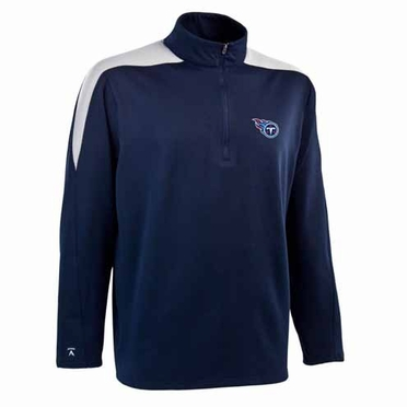 Tennessee Titans Mens Succeed 1/4 Zip Performance Pullover (Team Color: Navy)