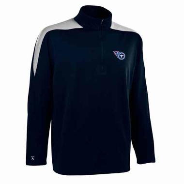 Tennessee Titans Mens Succeed 1/4 Zip Performance Pullover (Color: Smoke)