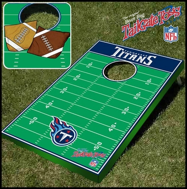 Tennessee Titans Tailgate Toss Cornhole Beanbag Game