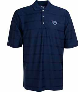 Tennessee Titans Mens Tonal Polo (Team Color: Navy) - Large