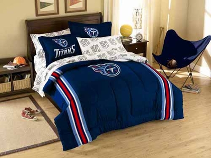 Tennessee Titans Twin Comforter and Shams Set