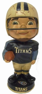 Tennessee Titans Vintage Retro Bobble Head