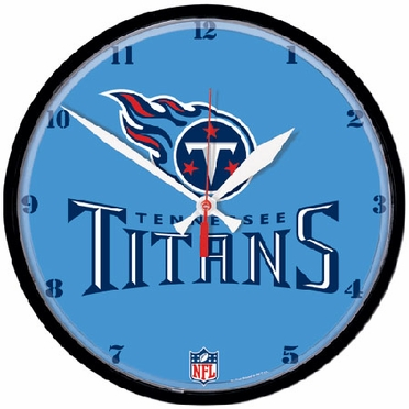 Tennessee Titans Wall Clock