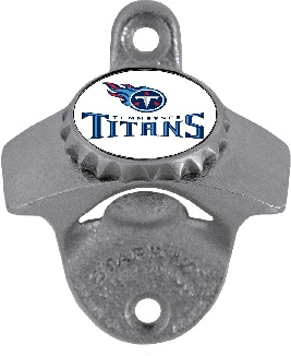 Tennessee Titans Wall Mount Bottle Opener