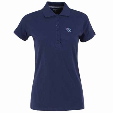Tennessee Titans Womens Spark Polo (Color: Navy)