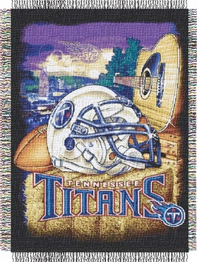 Tennessee Titans Woven Tapestry Blanket