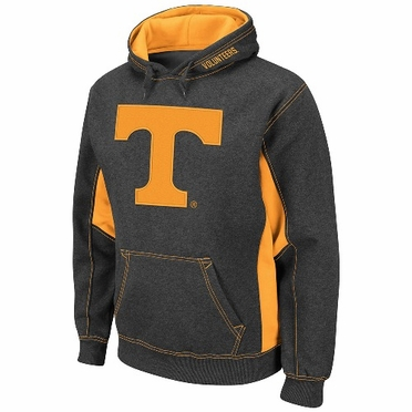 Tennessee Turf Red Pullover Hooded Sweatshirt (Charcoal)
