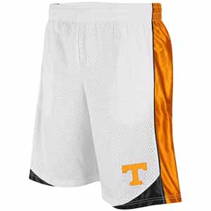 Tennessee Vector Performance Shorts (White) - X-Large